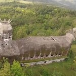 Gereja Ayam dari Udara